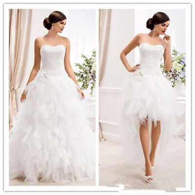 Elegant Sweetheart Ball Gown Wedding Dresses with Detachable Skirt Country Gowns