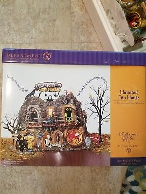 dept 56 halloween haunted fun house