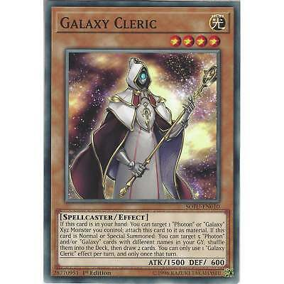 Yu-Gi-Oh! Galaxy Cleric - SOFU-EN010 - Common Card - 1st Edition - Soul Fusion