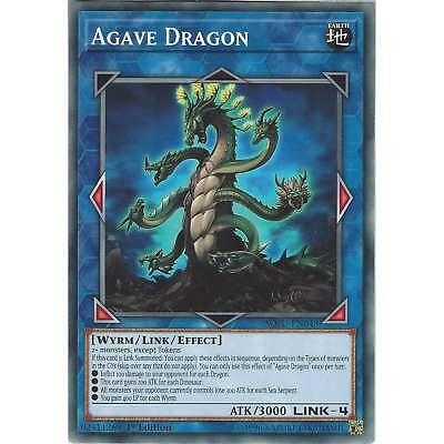 Yu-Gi-Oh! TCG: Agave Dragon - SOFU-EN048 Common Card - 1st Edition - Soul Fusion