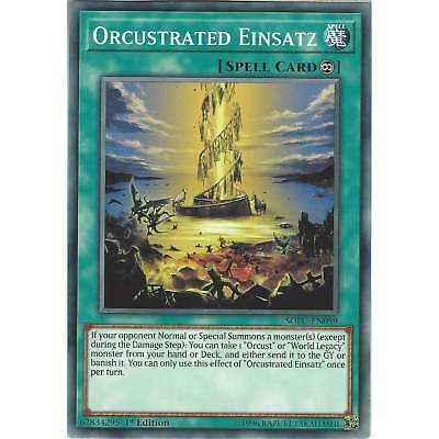 Yu-Gi-Oh Orcustrated Einsatz - SOFU-EN059 Common Card - 1st Edition -Soul Fusion