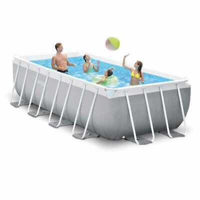 Piscina desmontable Intex 26788 ex 26776 Prism Frame rectangular 400x200x100