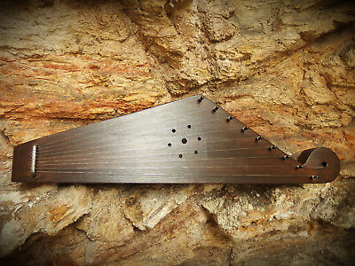 Kantele / North / (Gusli Psaltery) Russian traditional stringed instrument 9-str