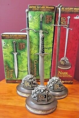 United Cutlery LOTR Mini Sword Collection 2