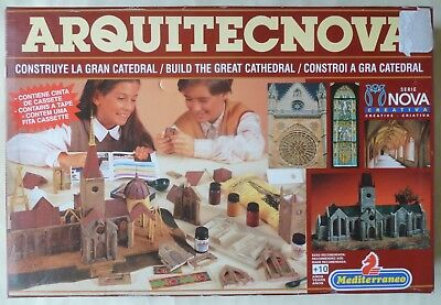 Mediterraneo Arquitecnova Build The Great Cathedral Plastic & Plaster Model Kit