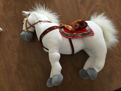 Disney Store Maximus Horse Plush Tangled Great Pre Owned Condition!