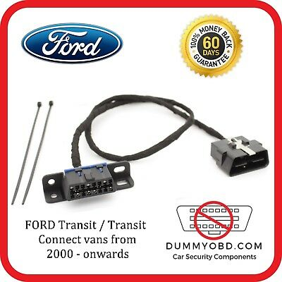 Ford Transit / Transit connect 2000 - onwards DUMMY FAKE OBD PORT
