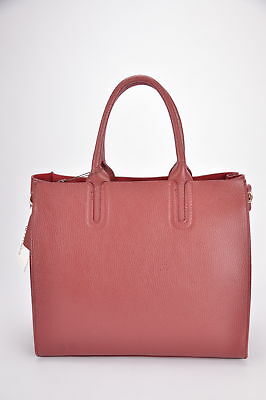 BNWT Lady's REAL LEATHER handbag + strap MADE IN ITALY 1st choice soft calfskin