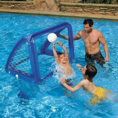 Cage gonflable foot Intex 58507 Jeu de water polo piscine poteaux football pisci
