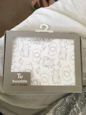 Swaddle Birth To 14lbs Brand New Tu