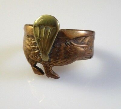 Vintage Paratrooper Ring with Eagle