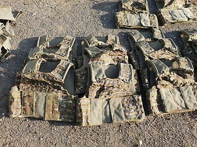 """180/116 46"""" Chest Large Mtp Osprey Mk4 Body Armour Cover - British Army - Molle"""