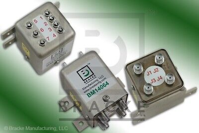 SMA Female Transfer DPDT Switch, DC-18 GHz 12 Vdc  BRACKE BM14064
