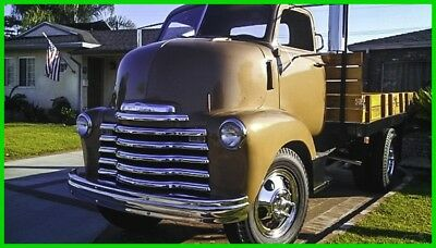 1948 Chevrolet Cabover  1948 Chevrolet Cabover  Manual RWD Pickup Truck, Recently Restored,  New Leather