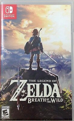 Legend of Zelda: Breath of the Wild (Nintendo Switch, 2017) (1487-SM31)