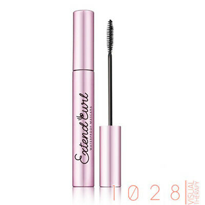 [1028 VISUAL THERAPY] Extend Curl Waterproof Mascara JET BLACK 8g NEW
