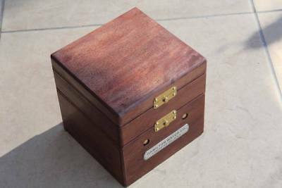 chronometer Box deck watch Hamilton model 22 ship's
