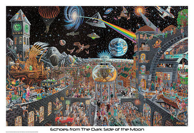 """Echoes of the Dark Side of the Moon Poster - 32""""x22"""""""