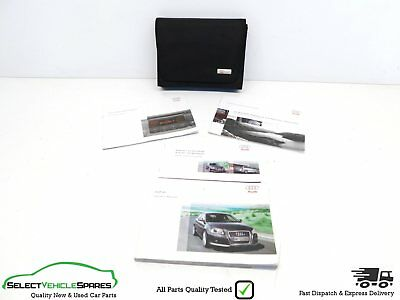 Audi A3 8P Genuine Handbook Owners Manual + Document Wallet Facelift 2009-2012