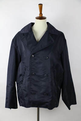 J. Crew Navy Blue Long Sleeve Double-Breasted Jacket M
