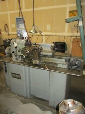 "11"" Swing x 18"" Center Hardinge HLVH High Precision Toolroom Lathe DRO"