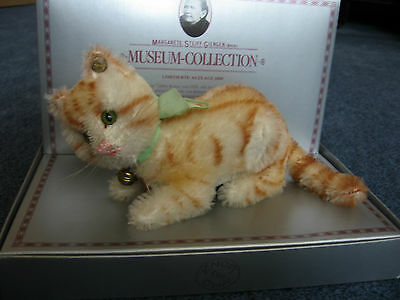Steiff Museum Collection 0104/10 Tabby Katze Replica 1928 - EAN 401237