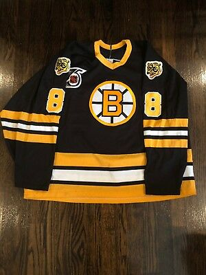 c53e12b74 Cam Neely Boston Bruins 1991 Original Nhl 75Th Anniversary Ccm Black Jersey