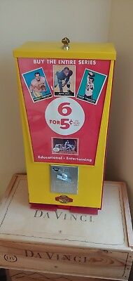 Early 1960's Football Card Vending Machine 1961 Topps NFL AFL