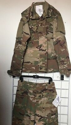New With Tags OCP Army Multicam FR Uniform Set Jacket/Trousers SMALL REGULAR