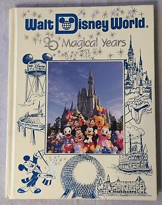 Walt Disney World 20 Magical Years Hardcover Book