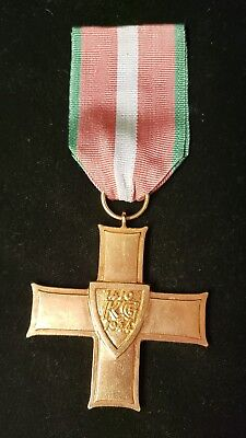 Post Ww2 Poland Order Of Grunwald 1St Class Cross Medal