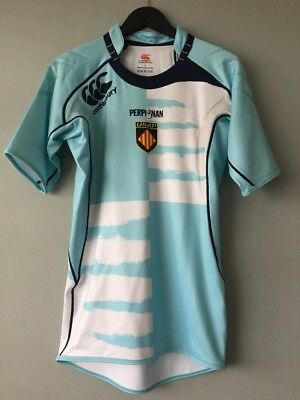 Canterbury Perpignan Rugby Jersey Size Large
