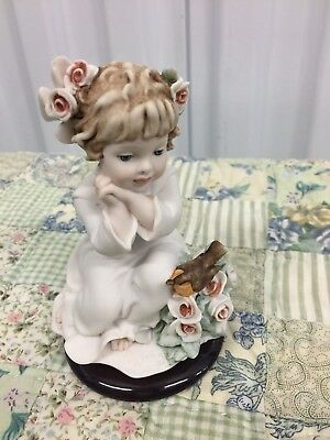 "Giuseppe Armani Figurine 1790F ""SWEET SONG"" THE SOCIETY 2004 *Excellent Disp* (B"