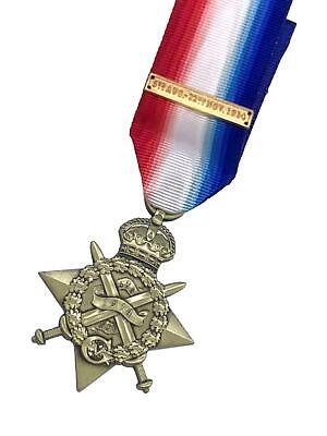 "Replica 1914 ""Mons"" Star (With Clasp), World War 1, Brand New Copy"