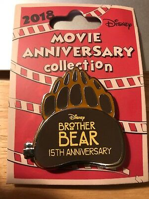 Disney Cast Ex.L.E.(500) Movie Anniversary Collection Brother Bear15th Years Pin