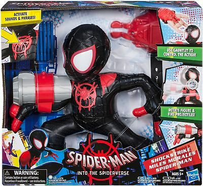 Hot 9PCS//LOT Spider Verse Figures Miles Morales Future Foundation Spiderman NEW