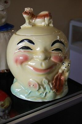 Cow Jumped Over The Moon - Vintage Robinson Ransbottom Cookie Jar