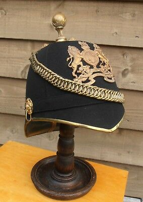 Edwardian - Officer's - Royal Army Medical Corps - Home Service Helmet - 1910