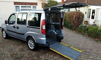 LOW Mileage, FIAT DOBLO,  WHEELCHAIR ACCESSIBLE VEHICLE.