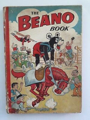 BEANO BOOK 1951 - Good Condition No Loose Pages … Very nice for age