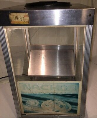 "Star 15"" Model 15-WL Nacho Chip Warmer Dispenser 10lbs Capacity Tested Working"