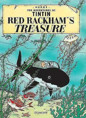 The Adventures Of Tintin Red Rackham's Treasure By Herge (Paperback, 2002)