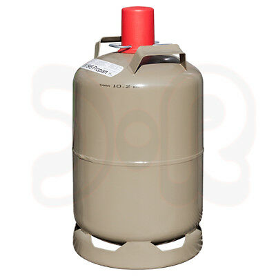 NEUE 11 kg Propan Gasflasche grau, leer, MADE IN GERMANY, Camping Heizen Grill