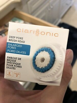 Clarisonic Deep Pore Cleansing Replacement Facial Brush Head 2 Pack