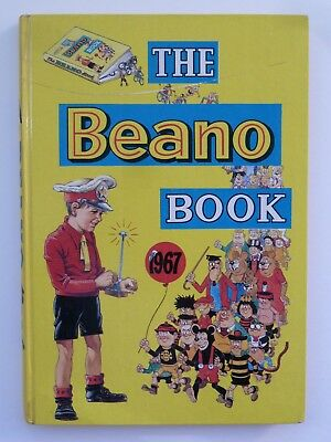 Beano Book 1967 Great Condition Puzzle Pages Clean, Not Price Cut