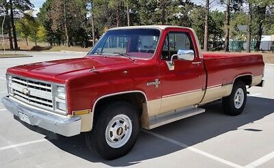 1985 Chevrolet C/K Pickup 2500 SCOTTSDALE 1985 CHEVROLET C20 PICKUP - ALL ORIGINAL CLEAN SURVIVOR