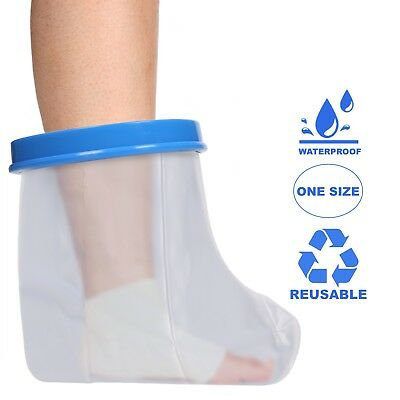 Adult Foot & Ankle Waterproof Cast & Dressing Cover | Protector | Latex Free