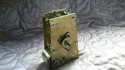 FUSEE CLOCK MOVEMENT large 'A' frame 19th CENTURY from a dial clock?