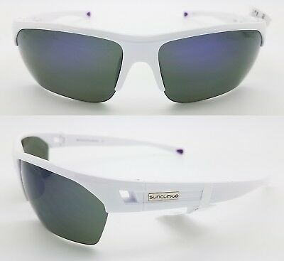 9b6dbb55ad8 NEW Suncloud sunglasses Detour White Violet Polarized Unisex Medium fit  purple