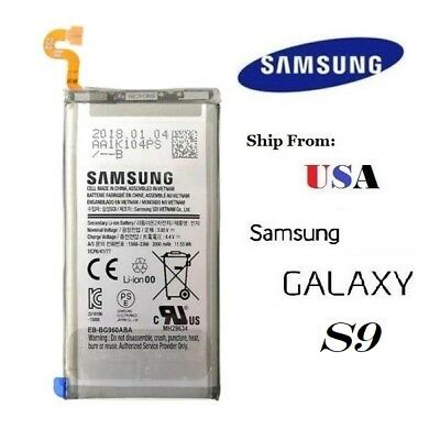 OEM Replacement Battery 3000mAh For Samsung Galaxy S9 EB-G960ABE USA
